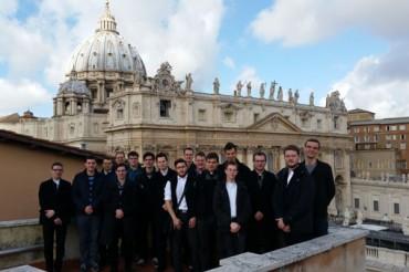 Romanje bogoslovcev v Rim