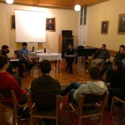 Kulturni večer z voditeljem Vincencijeve zveze dobrote.