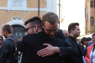 Diakonsko posvečenje Gabriela Kavčiča v Rimu