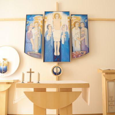 Adoracijska kapela.