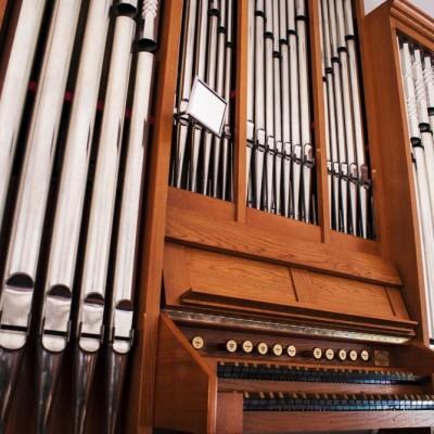 Orgle v semeniški kapeli.
