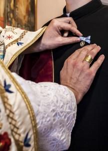 Pripenjanje svetinjice